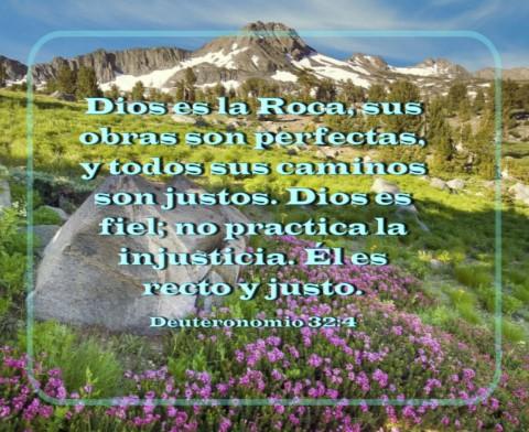 versículos de la biblia roca