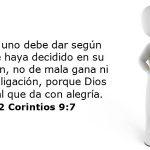 Citas Bíblicas de Diezmo y Ofrenda para la obra de Dios