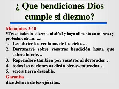 citas biblicas diezmo y ofrenda bendiciones