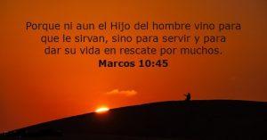 citas sobre el sacrificio de jesus servir