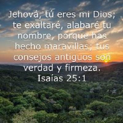 versiculos de las maravillas de dios jehova
