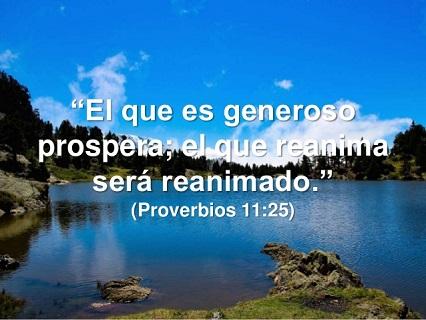 versiculos de prosperidad generosidad