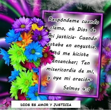 versos biblicos de justicia clama