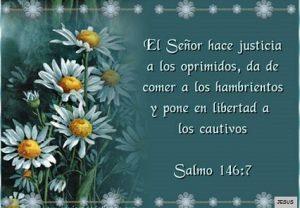 versos biblicos de justicia senor