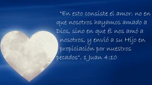 la sangre de cristo amor