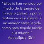 La Sangre de Cristo  tiene Poder y Vida Eterna