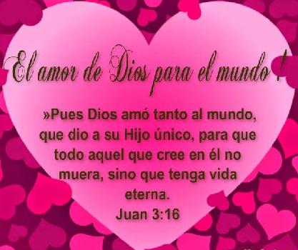 el amor de jesus vida