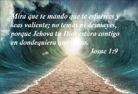 versículos bíblicos de motivación valiente
