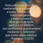 La Justicia de Dios, Citas Bíblicas de Poder y Salvación