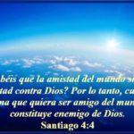 La Amistad con el Mundo nos Aparta de Dios, Citas Bíblicas