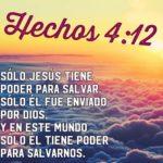 El Nuevo Pacto,  Pasajes con Palabra de Dios para Salvación