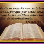 La Obediencia a Dios, necesaria para recibir sus Bendiciones