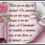 El Espíritu Santo, Nuestro Consolador que procede del Padre