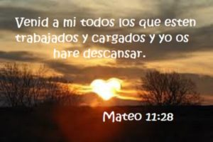 pasajes bíblicos con promesas descansar