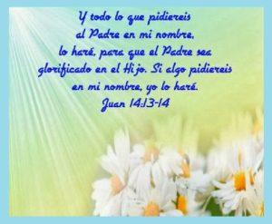 pasajes bíblicos con promesas nombre