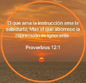 sabiduría y enseñanza proverbios