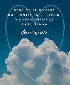 Confianza en Dios Bendito