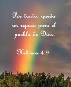 El reposo del pueblo de Dios dia