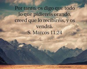 Mensajes de nuestro Señor Jesucristo orando