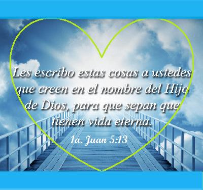mensajes bíblicos de vida eterna hijo