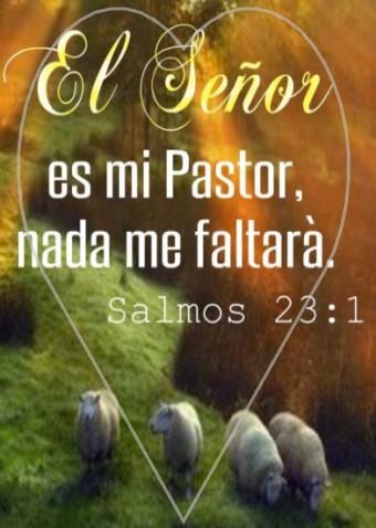 Jesucristo el buen pastor salmos