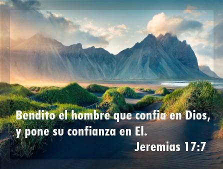 mensajes bíblicos de confianza bendito