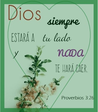 mensajes bíblicos de confianza contigo